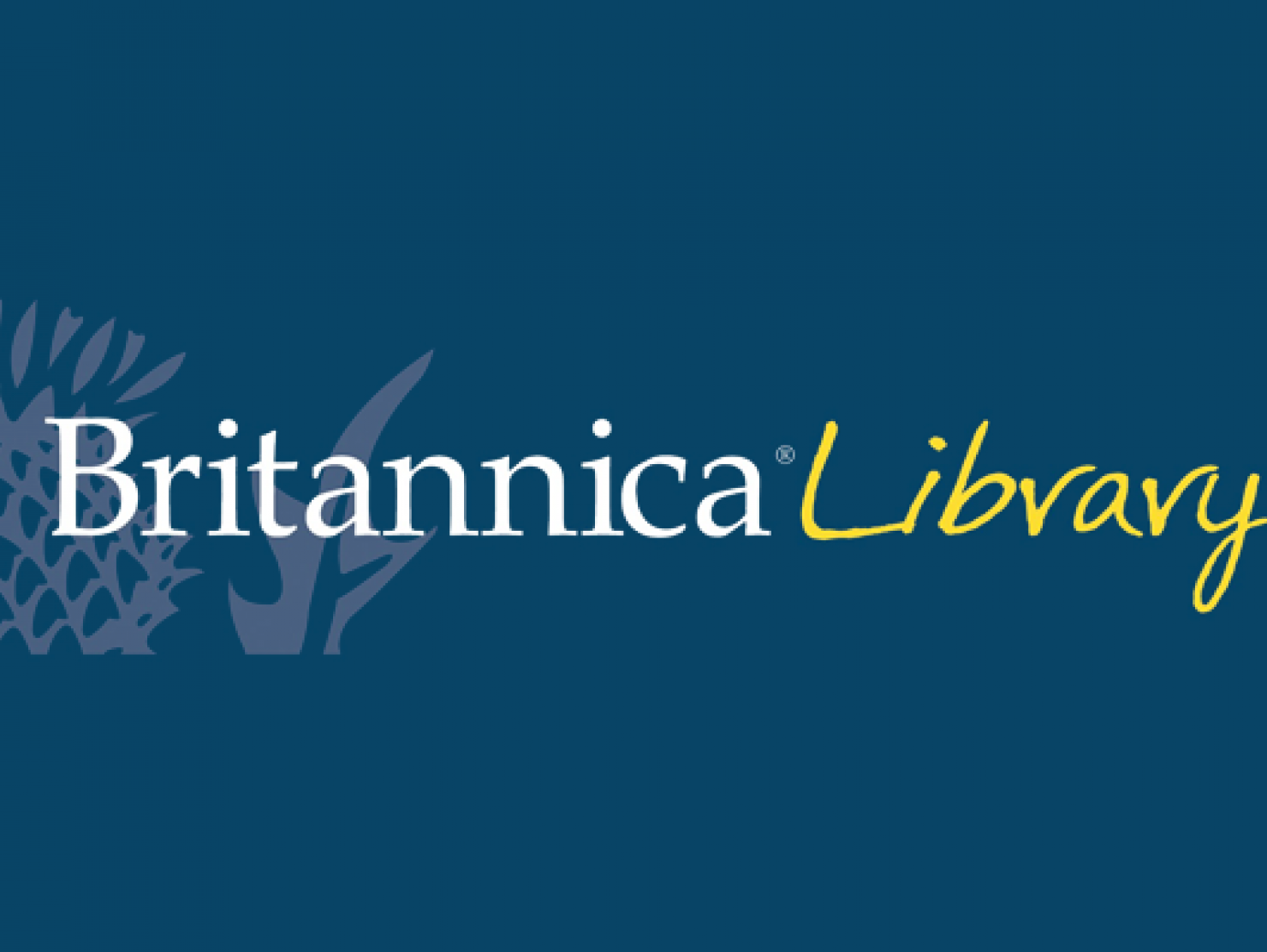 Britannica Library icon from Richland Library