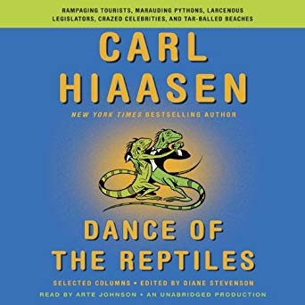 Dance of the Reptiles Audiobook Cover Image