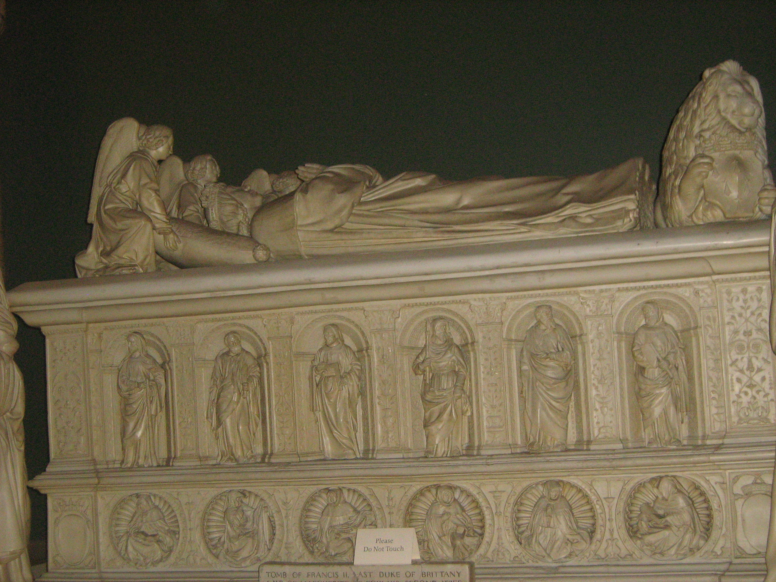 Marble Tomb of Last Duke of Brittany