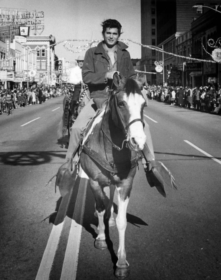 Michael Landon in the Carillon Parade