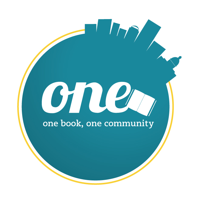 Logo for One Book One Community initiative by Richland Library