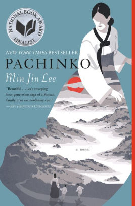 Book cover of Pachinko by Min Jin Lee