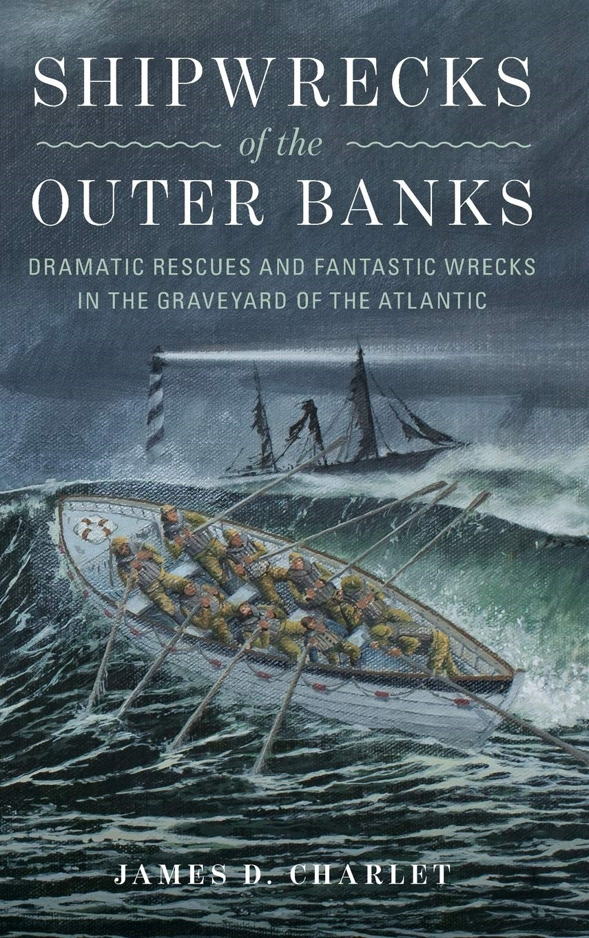 Shipwrecks of the Outer Banks Book Jacket
