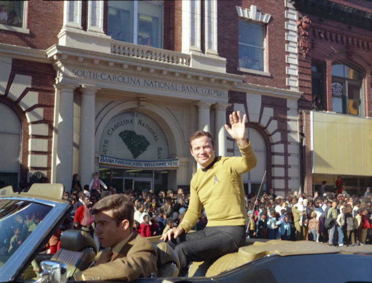 William Shatner in the Carillon Parade
