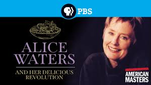 Alice Waters and Her Delicious Revolution dvd cover image
