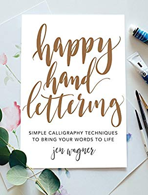 Book cover: Happy Hand Lettering
