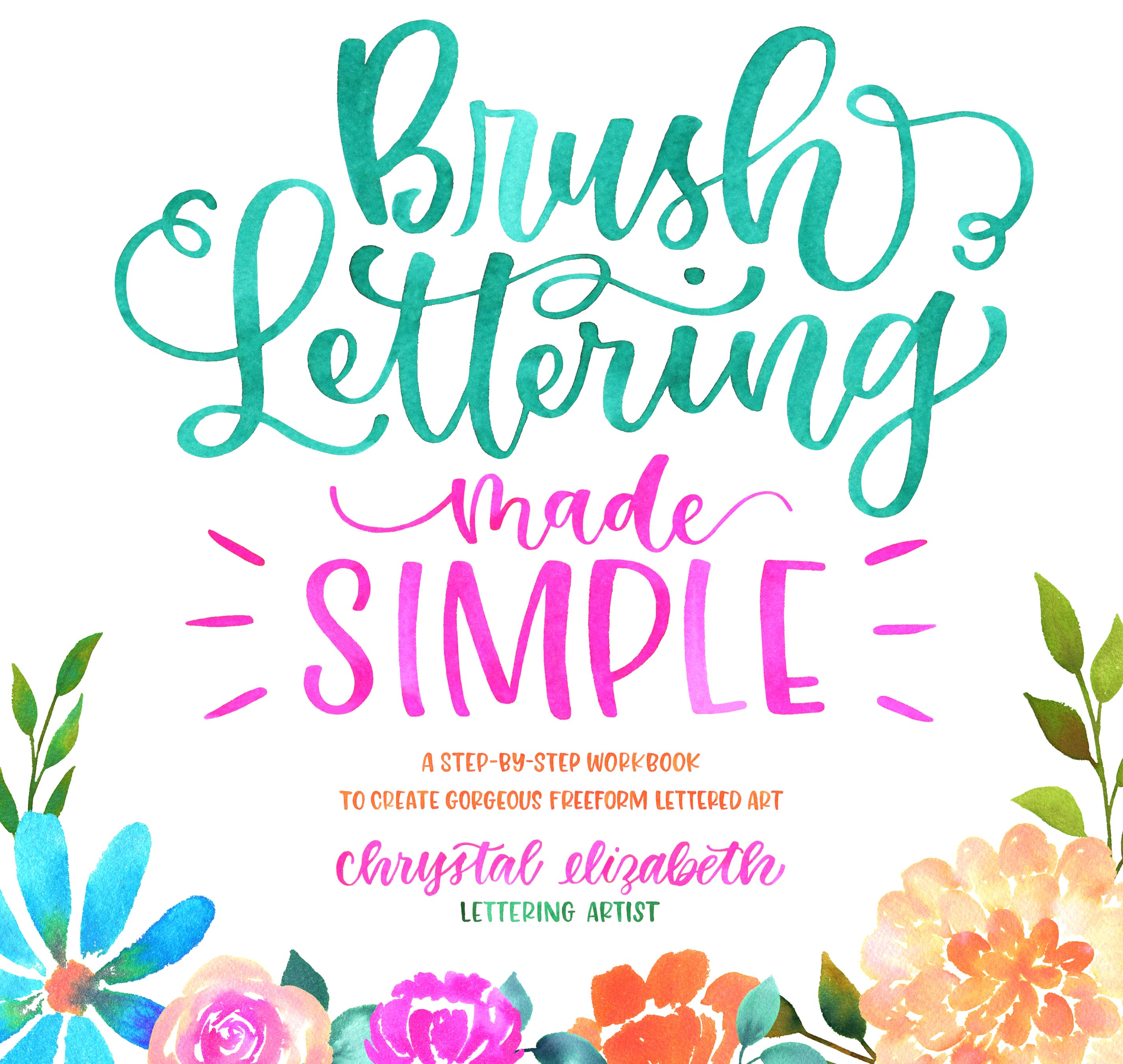 Book cover: Brush Lettering Made Simple