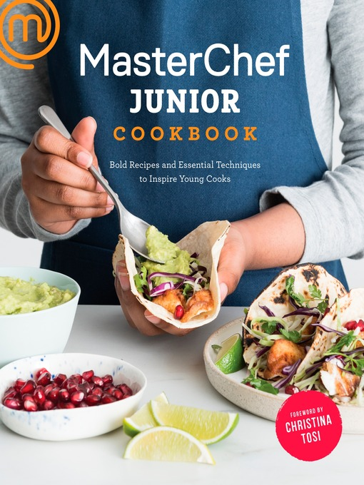 Master Chef Junior cookbook cover image