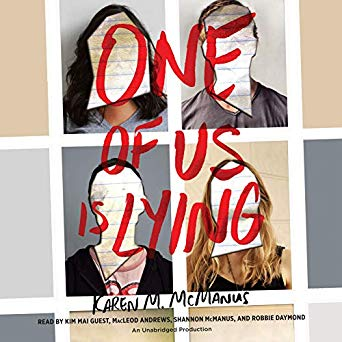 One of Us is Lying Audiobook Image