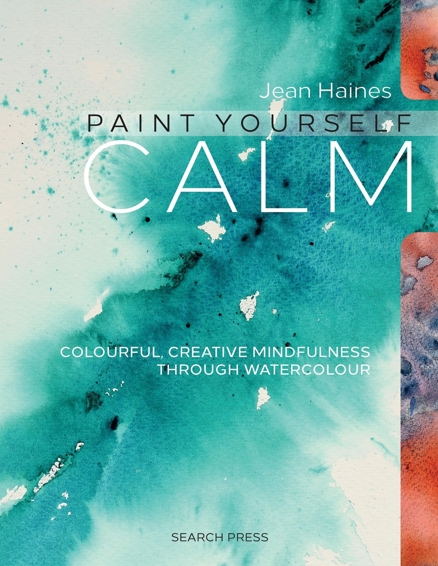 Book cover: Paint Yourself Calm