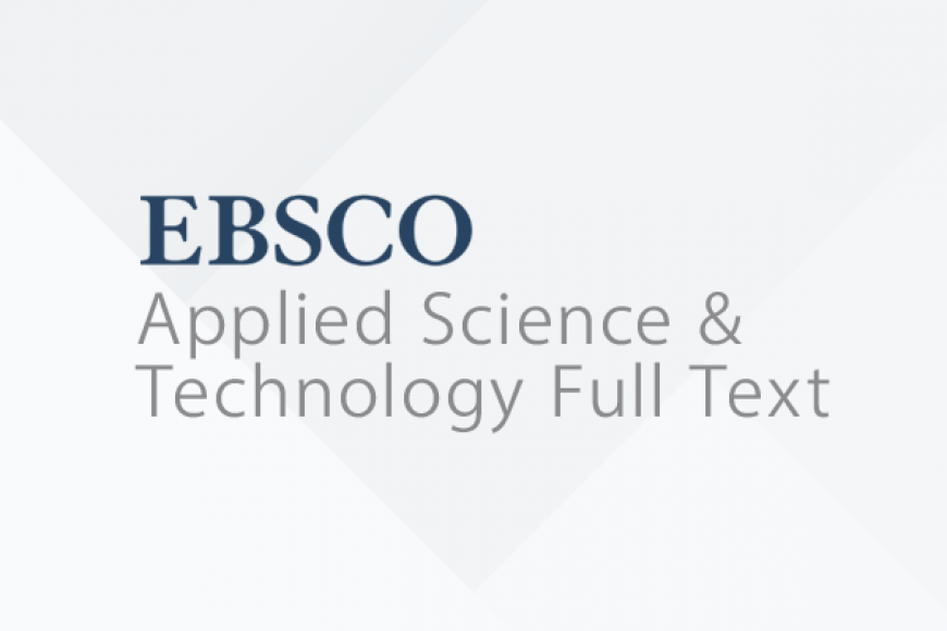 EBSCO Applied Science & Technology Full Text