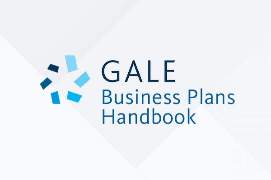 Gale Business Plans Handbook