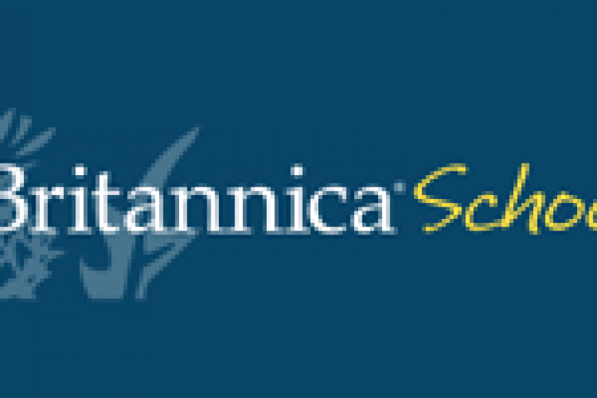 Britannica School button