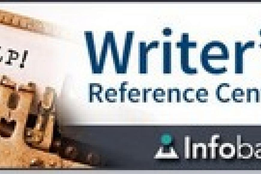 Writer's reference center button