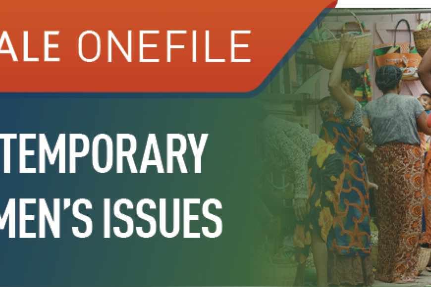 Gale Onefile: Contemporary Women's Issues logo