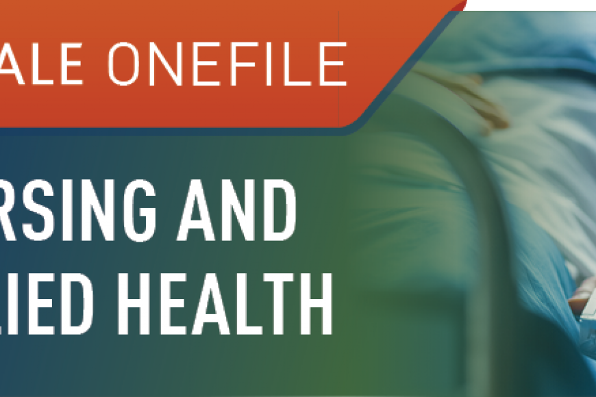 Gale Onefile: Nursing and Allied Health logo