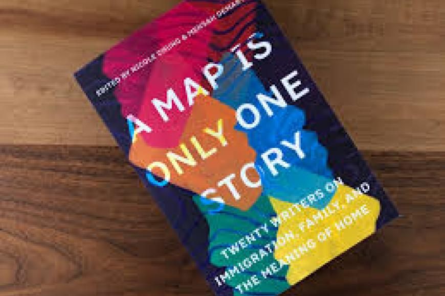 A Map is Only One Story Cover