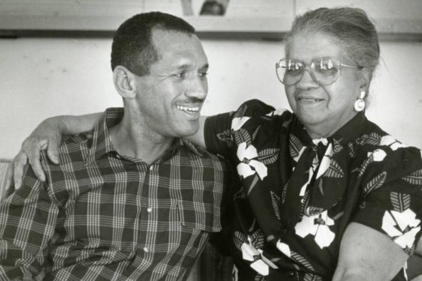 Ethel and son, Charles, Bolden from Richland Library Archive