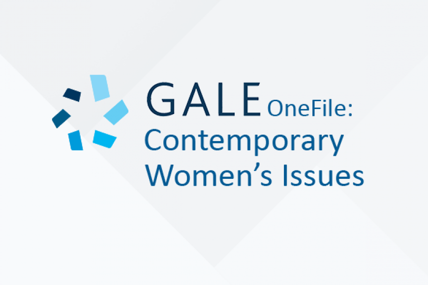 Gale OneFile: Contemporary Women's Issues