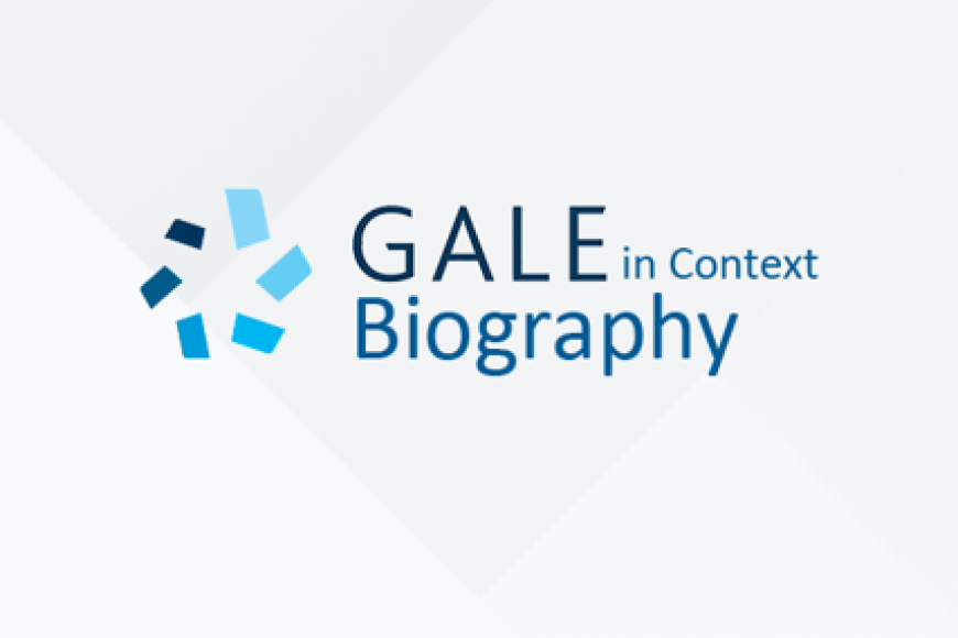 Gale in Context: Biography