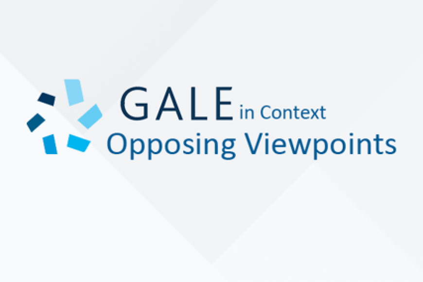 Gale in Context: Opposing Viewpoints