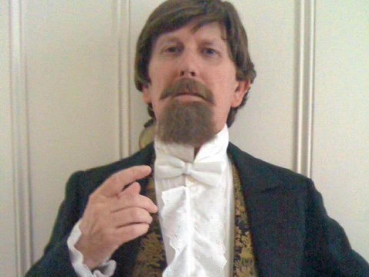 Howard Burnham as Charles Dickens