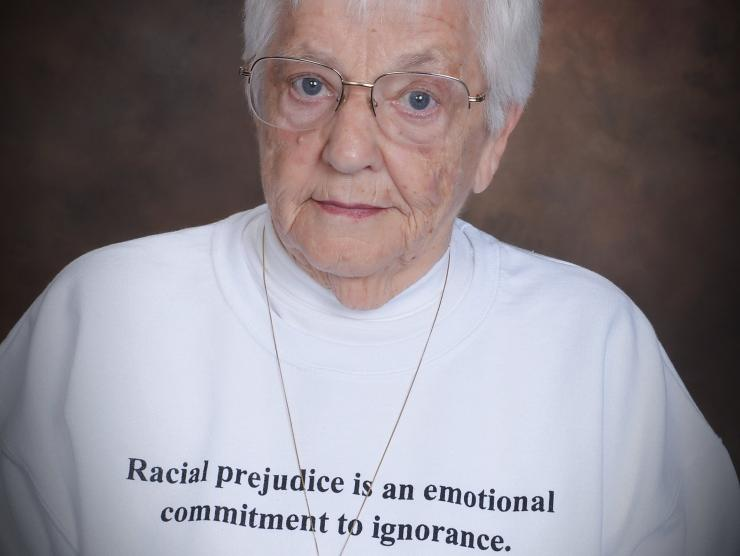 Dr. Jane Elliott, teacher, lecturer, and diversity trainer