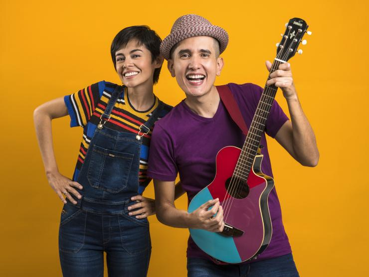 Latin Grammy winning duo 123 Andres perform virtually for Richland Library