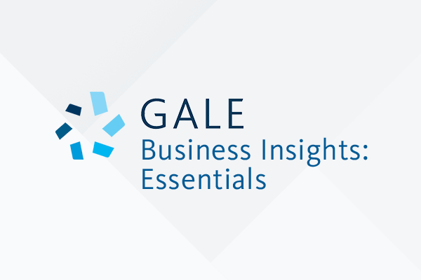Gale Business Insights Essentials