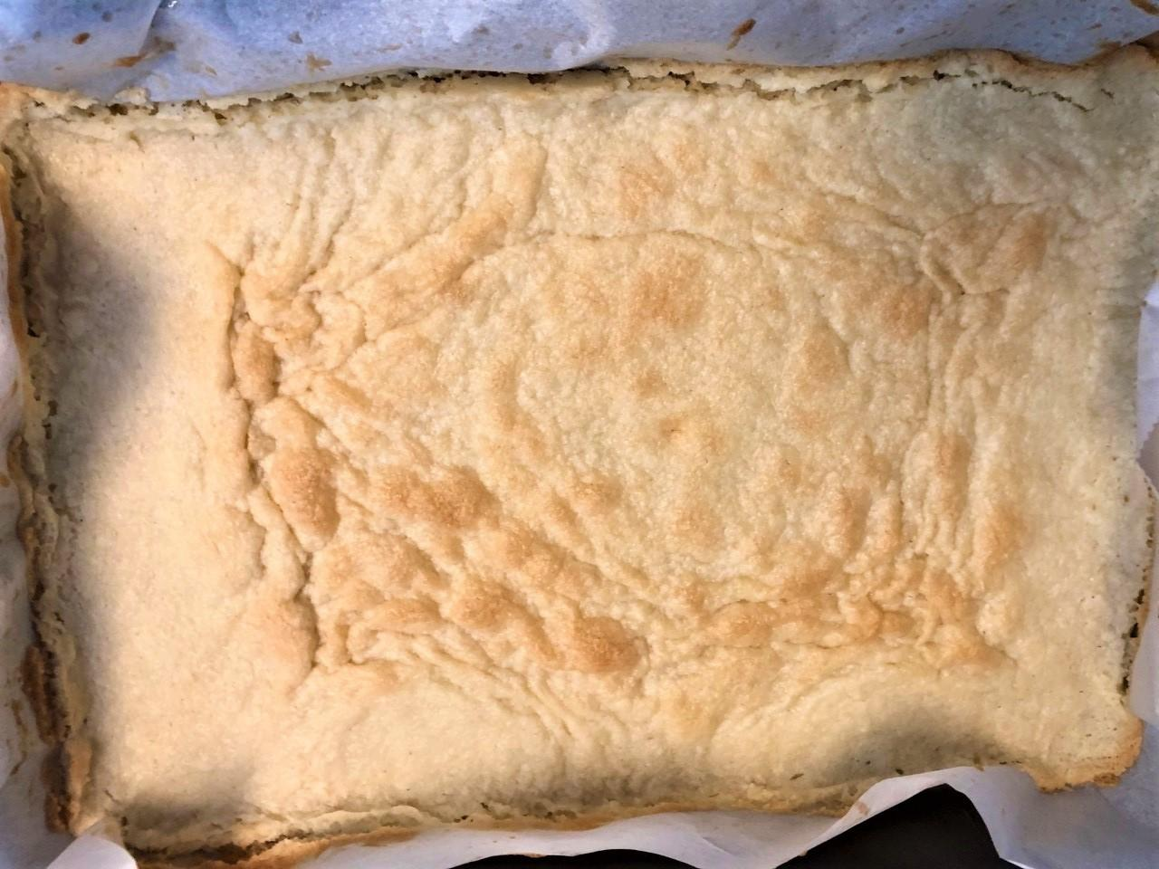 Image of Lemon Bar bottom crust, baked
