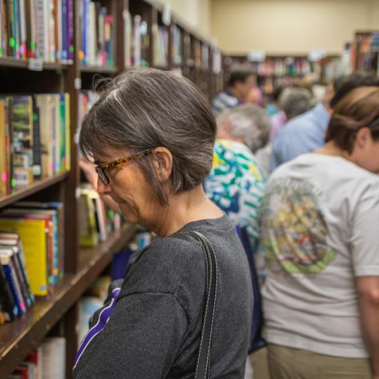 Friends and Foundation Book Sale