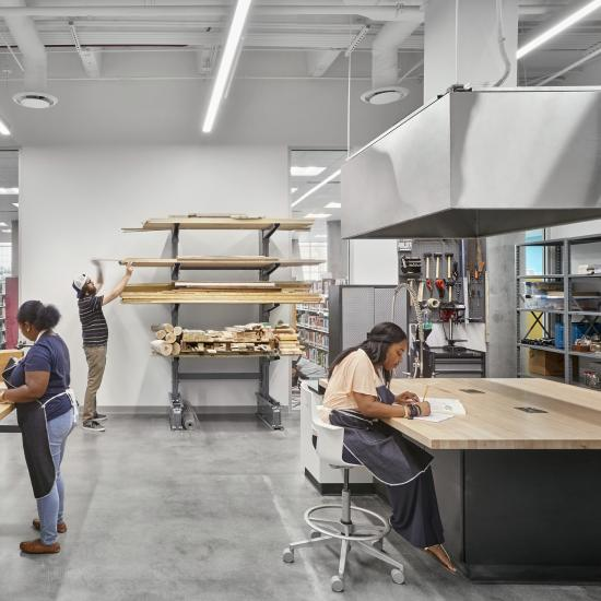 Main Woodworking Studio
