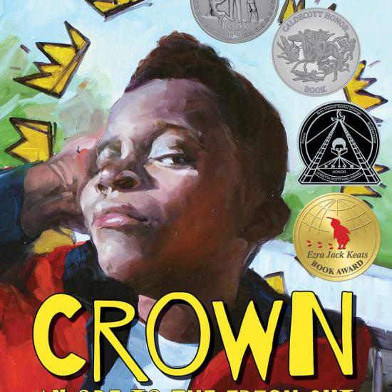 Crown: Ode to the Fresh Cut by Derrick Barnes, illustrated by by Gordon C. James