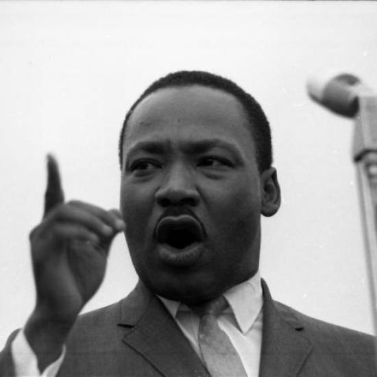 Martin Luther King in Kingstree, S.C.