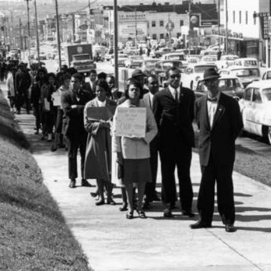 March 2 1961 civil rights march