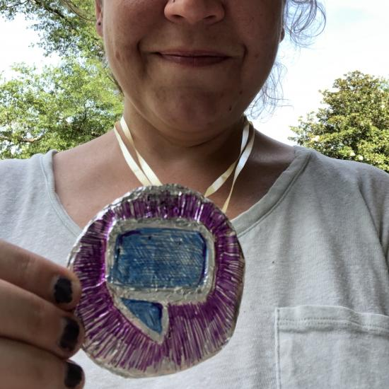 Finished Summer Learning Challenge Medal