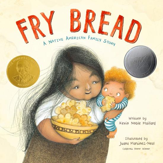 Fry Bread by Kevin Noble Maillard Book Cover