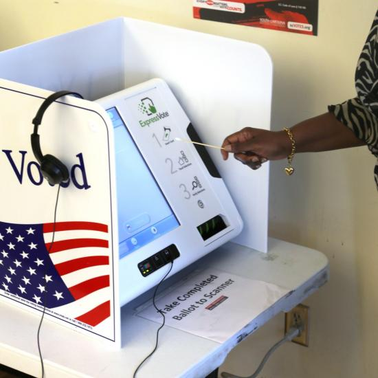 SCVotes.org Voting Machine