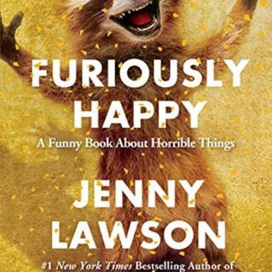 Furiously Happy Book Jacket
