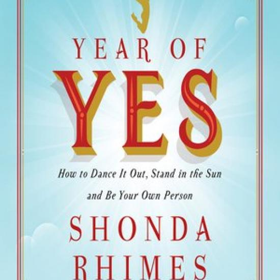 Book cover of Year of Yes by Shonda Rhimes
