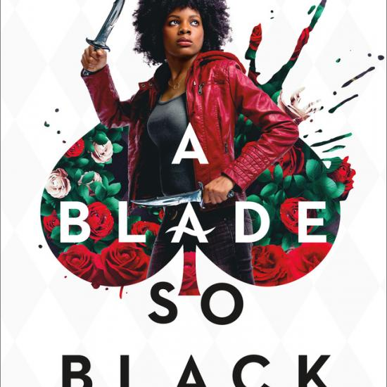 Book Cover for A Blade So Black