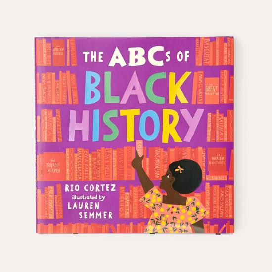 The ABC's of Black History Book Cover