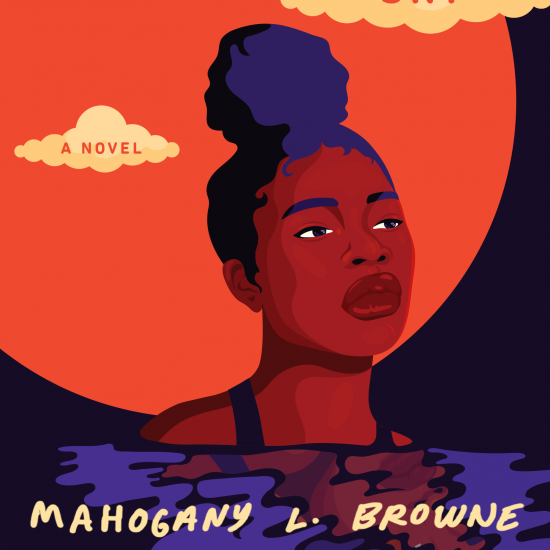 Book cover for Chlorine Sky by Mahogany L Browne