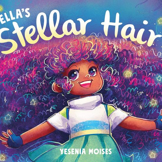 Book Cover Stella and her Stellar Hair