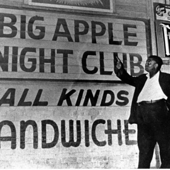 Elliott Wright at the Big Apple Night Club 1937